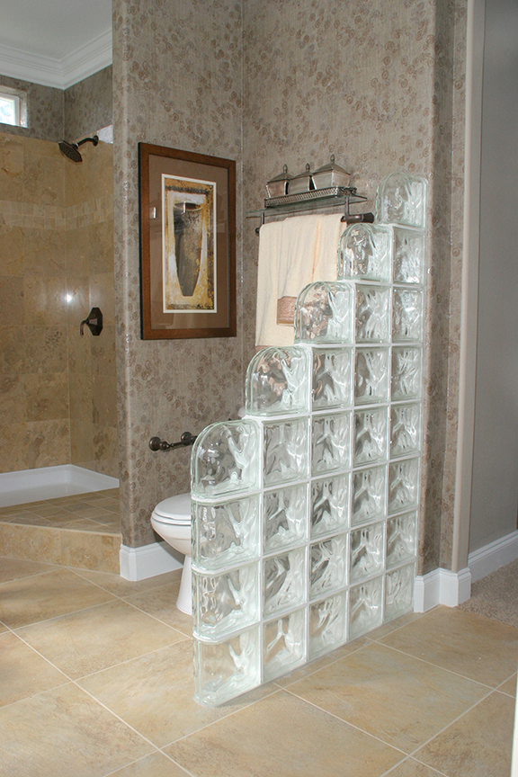 How To Incorporate Glass Blocks Into Your Bathroom Design Glass Block Blogger