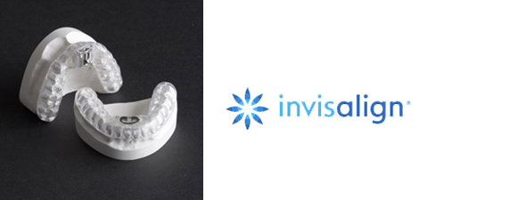 Invisalign Logo and Tray