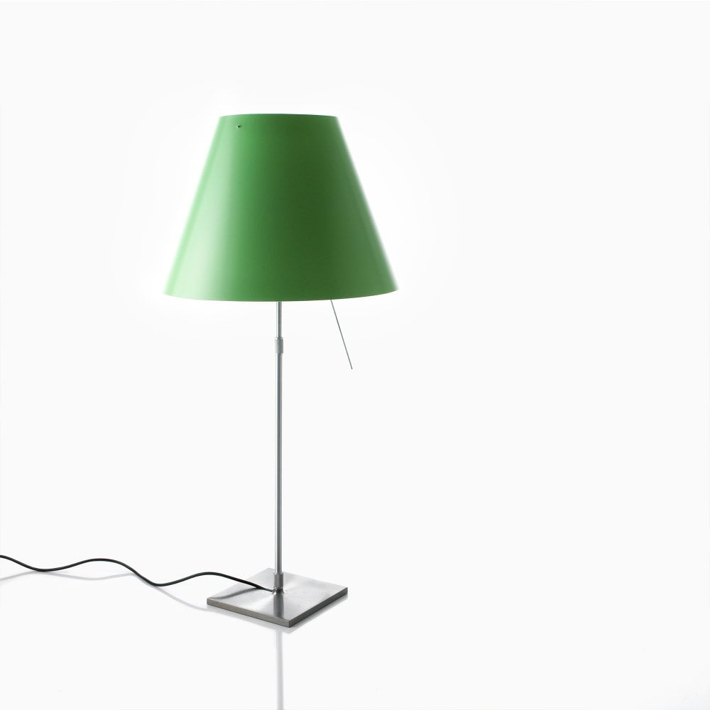 Luceplan Costanza Luceplan Costanza Table Lamp Aluminium Green