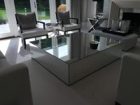 Mirrored Coffee Tables - Klarity - Glass Furniture