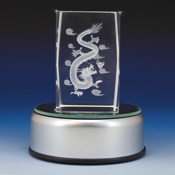 "Chinese Wholesale Products 3d Crystal ""chinese Dragon"" Laser Engraved – Glass Gallery"