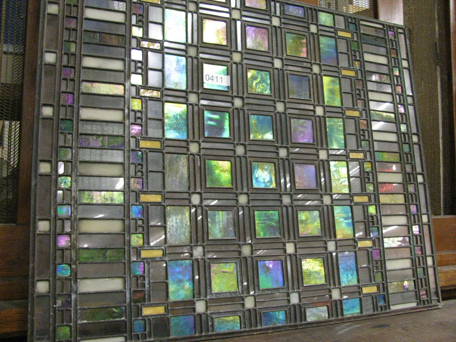 Frank Lloyd Wright Rare Frank Lloyd Wright Glass Window To Be Auctioned Urbanglass