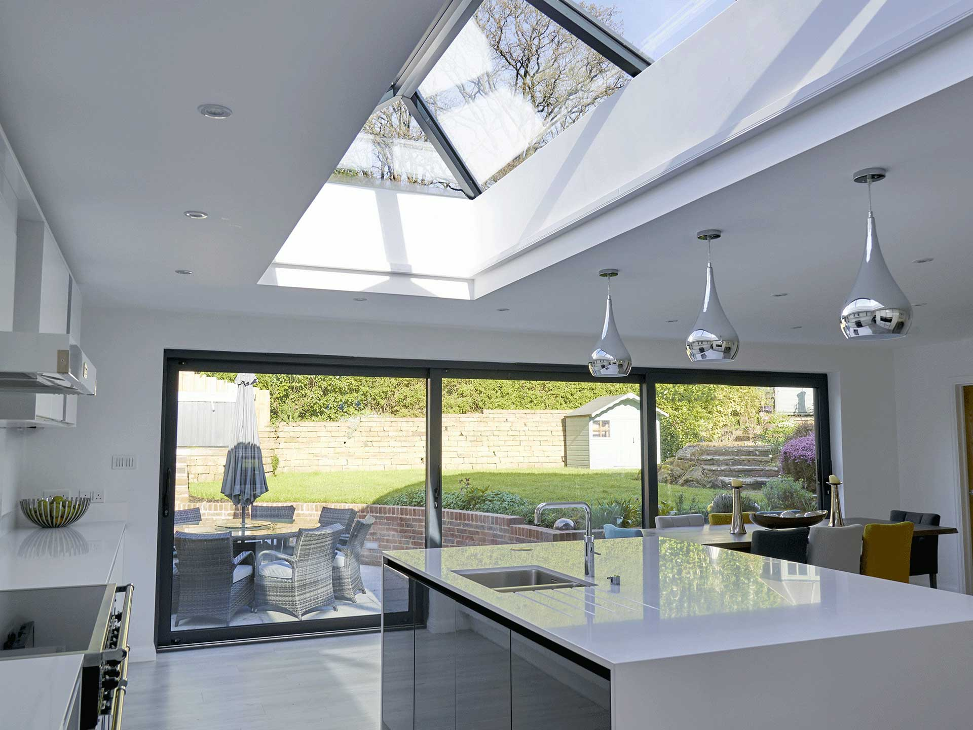 Glass Roof Extension Glass Roofs Roof Lanterns Surrey London