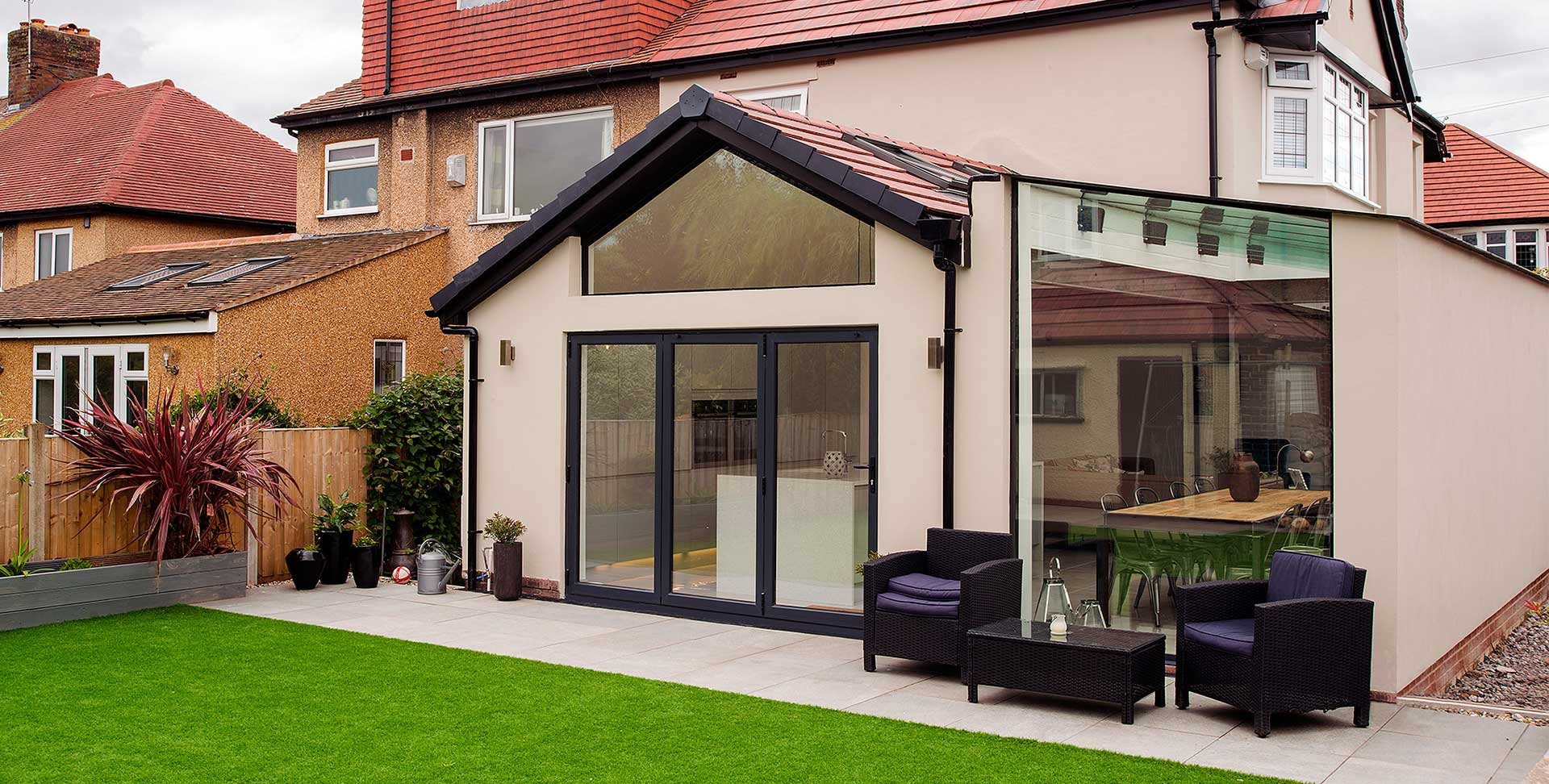 Glass Roof Extension Glassrooms Architectural Glazing Modern Contemporary Frameless
