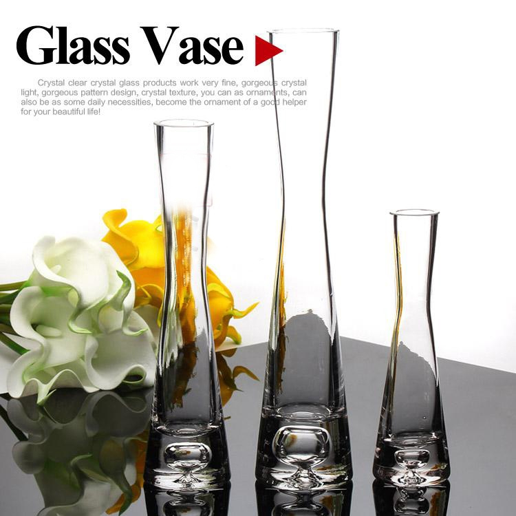 Glass Factory Manufacturer Hand Blown Glass Vases Manufacturer Clear Glass Flower