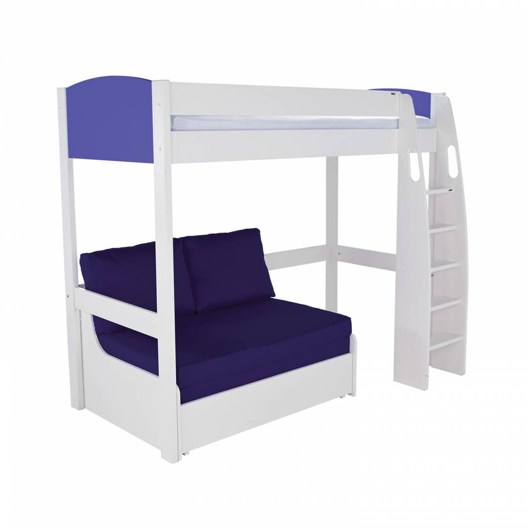 Double Futon Beds Uk Stompa Duo Uno S Highsleeper Including Double Sofa Bed Blue