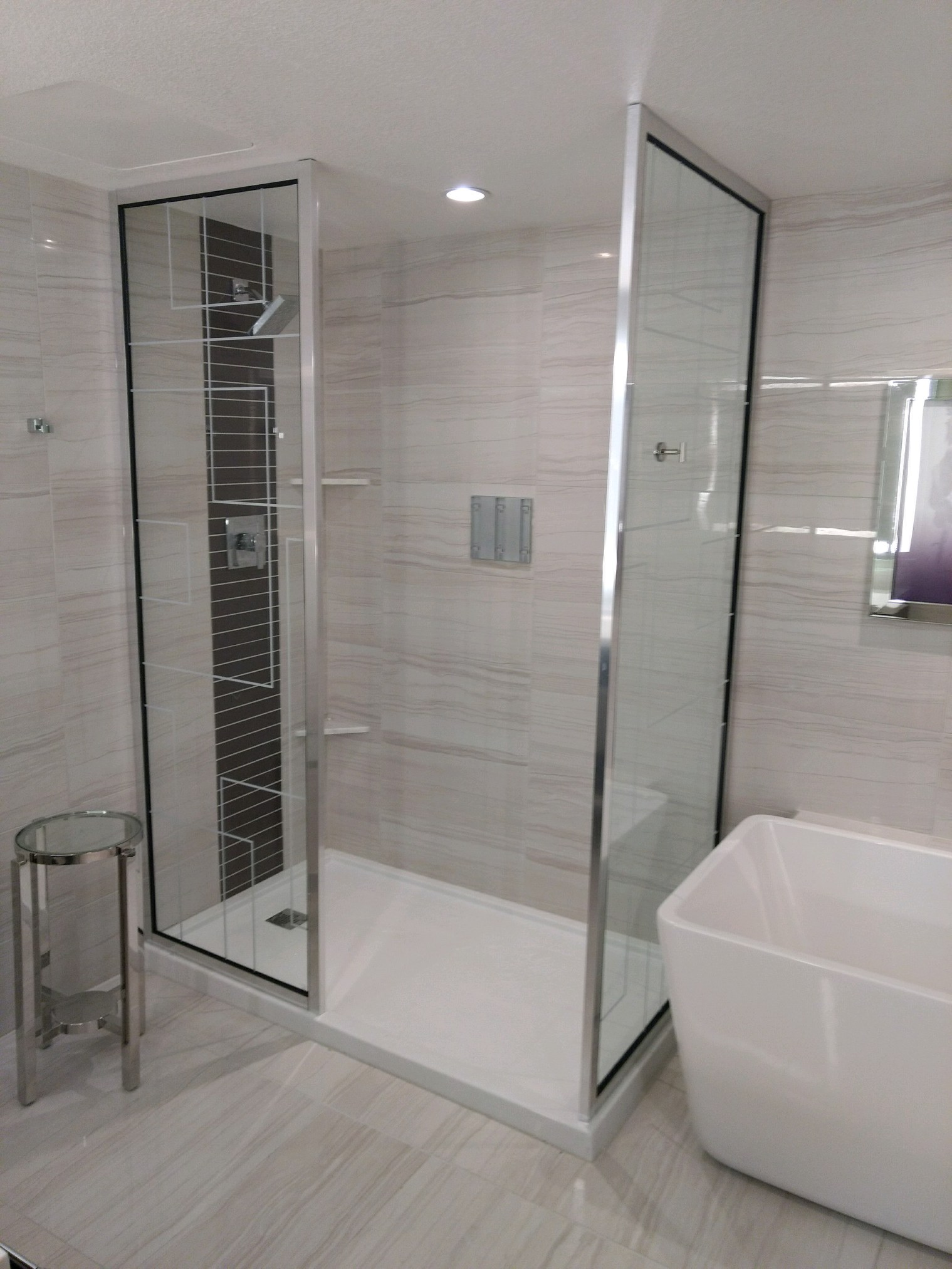 Custom Glass Custom Glass Shower Doors And Enclosures Glasswerks La Ca