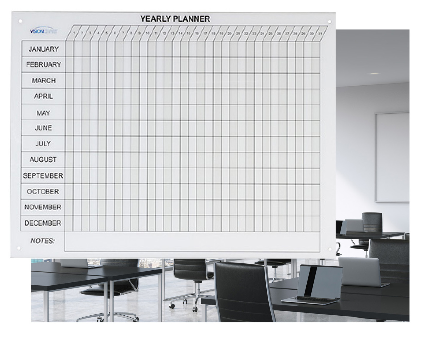 Glass Shop Perth Magnetic Glass Year Planner Glass Whiteboards Perth