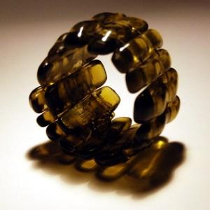 Recycled Bottle Glass Bracelet