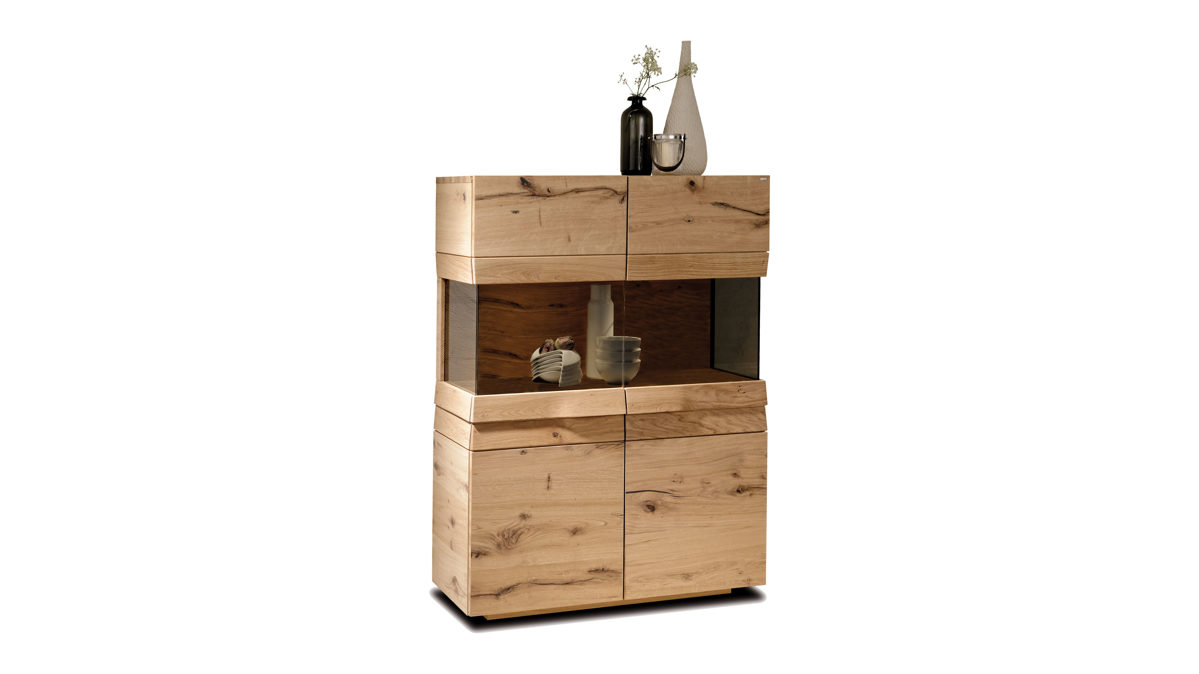 Voglauer V Organo Highboard Interliving Gleißner