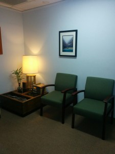 Dr. Christine Pourandrias - Pasadena Therapy Location - waiting room