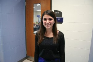 Kadie Alpers speaks about her interests in photography and acting. Photo courtesy of Natalie Herson.