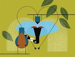 Charley Harper works coming to the Kalamazoo Nature Center