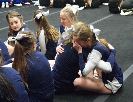 Cheer season finishes at regionals