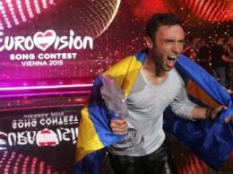 Шведский певец Монс Сельмерлев отставал от россиянки Полины Гагариной в течение первой части голосования, но в итоге выиграл с солидным отрывом