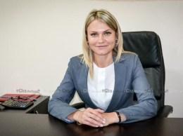 Nina CERETEU, primar de Drochia. © Nelly Ciobanu/GD
