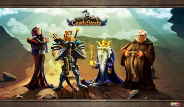 CastleStorm Characters