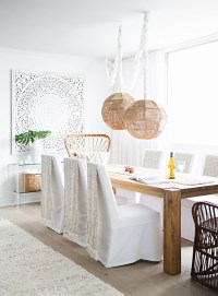 A Mostly White Morocco-Inspired Home Design | Glitter, Inc ...