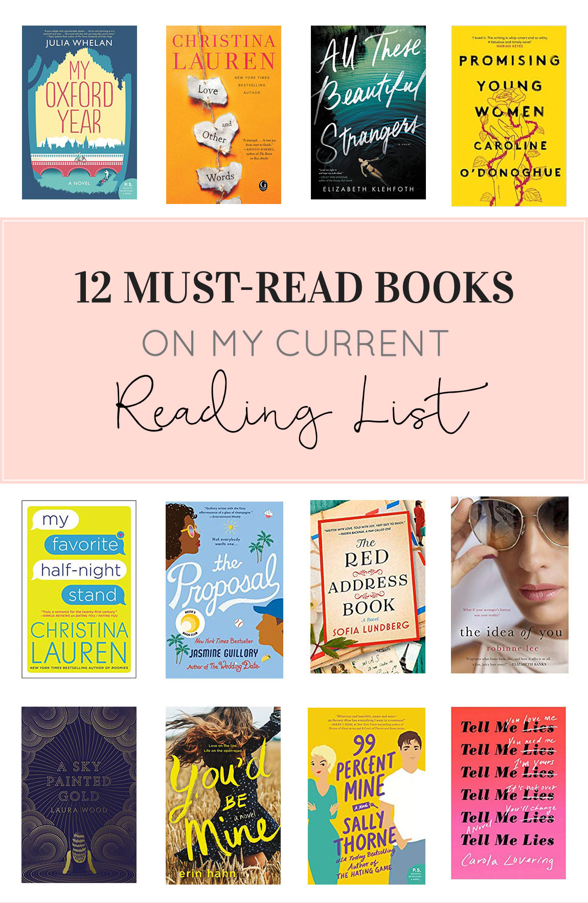 Bestsellers Libros Spring Reading List 12 Must Read Books Glitter Inc