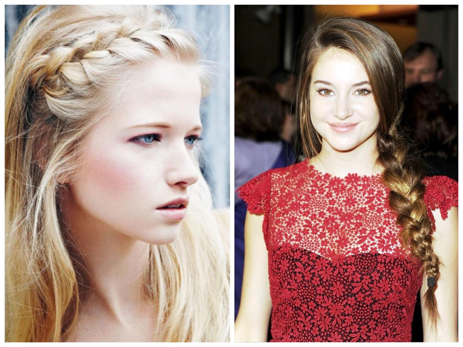 Coiffure Tresse Devant Shailene Woodley Glitters And Fashion