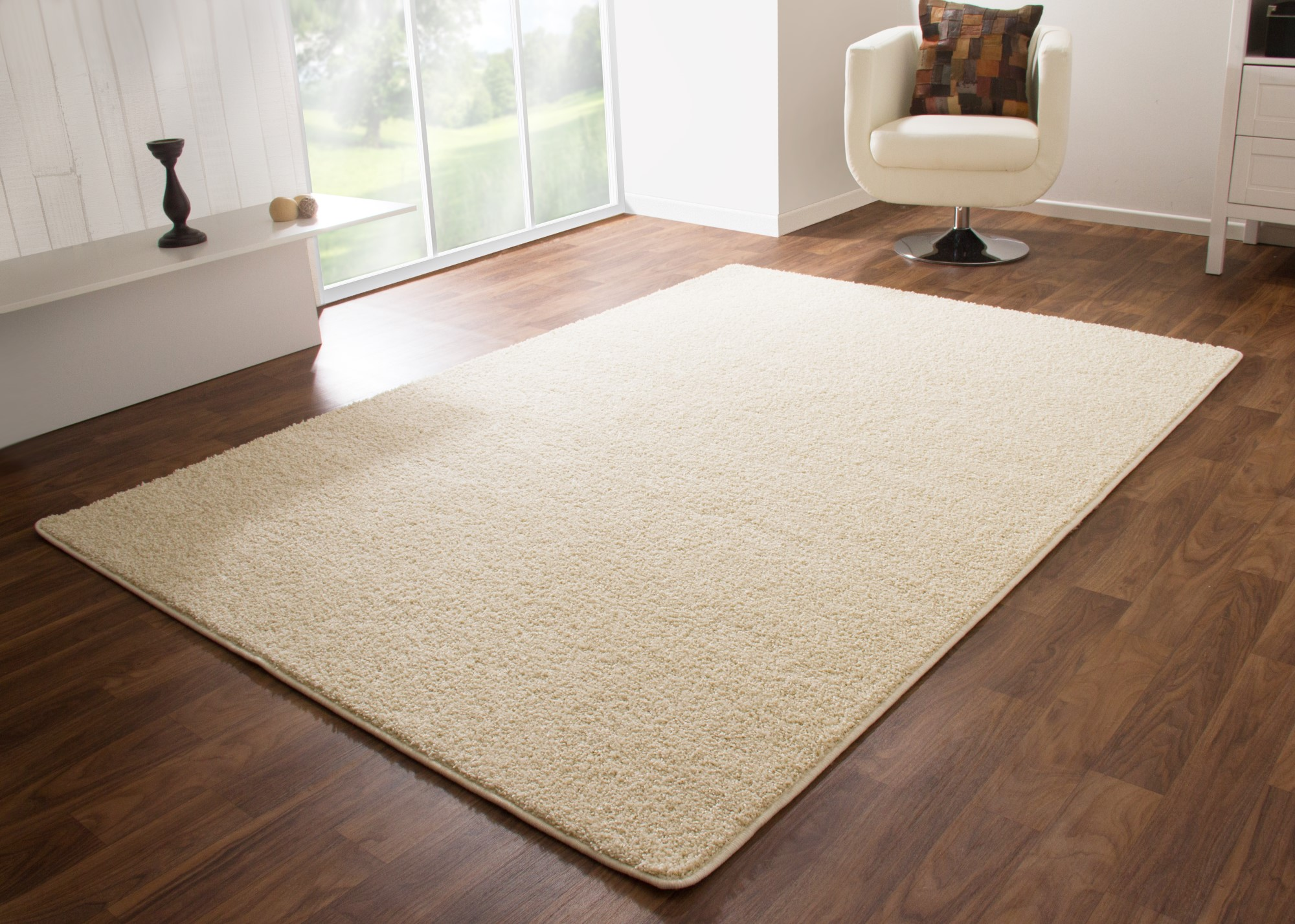 H&m Home Teppich Shaggy Rug Liverpool Soft And Cosy Pile Natural White