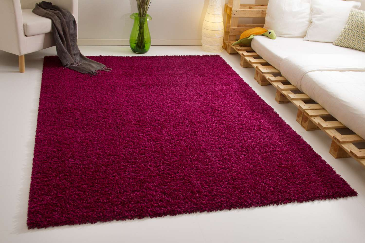 Teppich Bordeaux Hochflor Teppich Next Funny Global Carpet