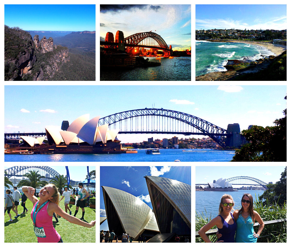Collage Frames Australia Highlights From A Year In Australia Global Gallivanting