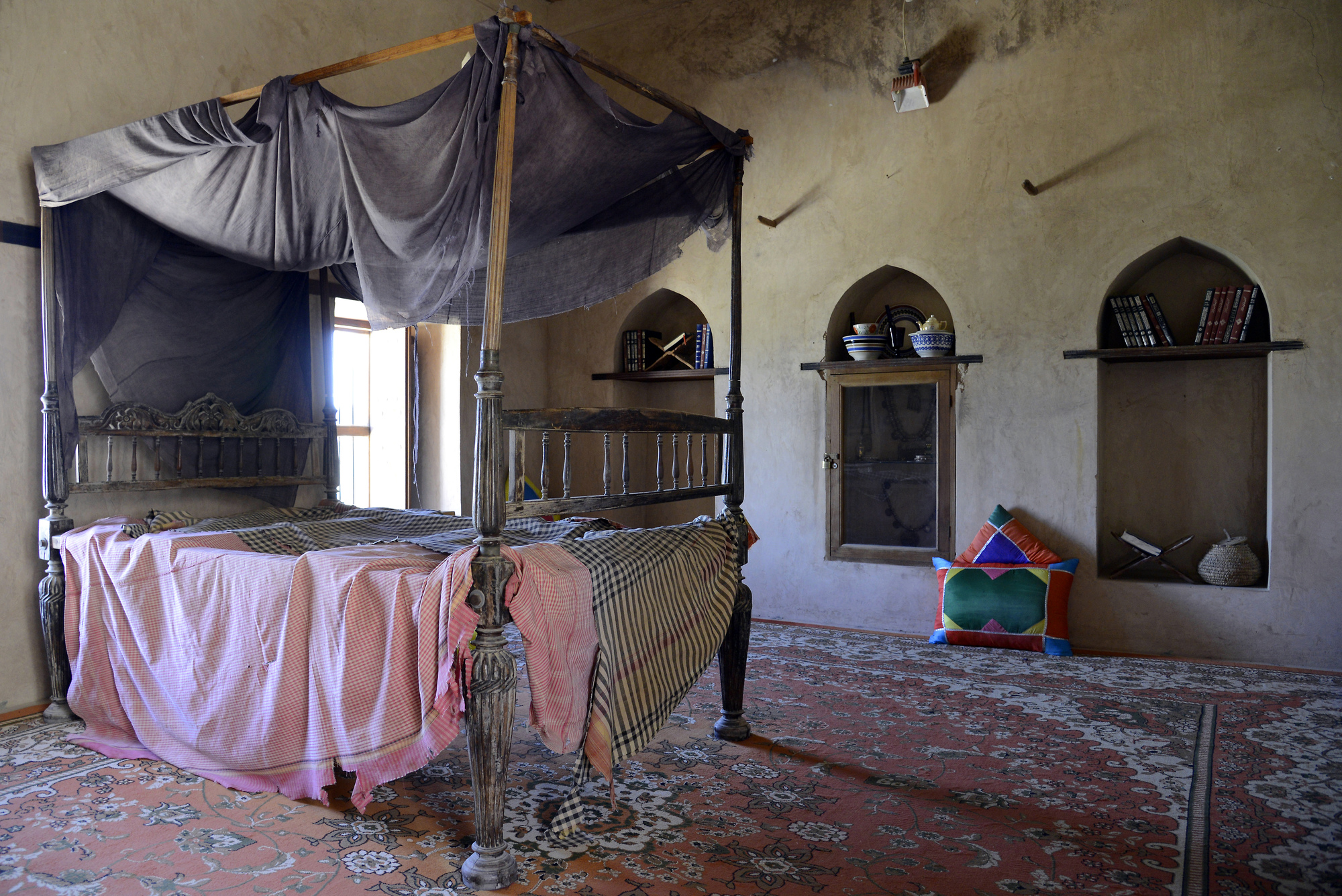 Schlafzimmer Kühlen Im Sommer Nakhal Fort Bedroom Jebel Shams Pictures Oman In Global