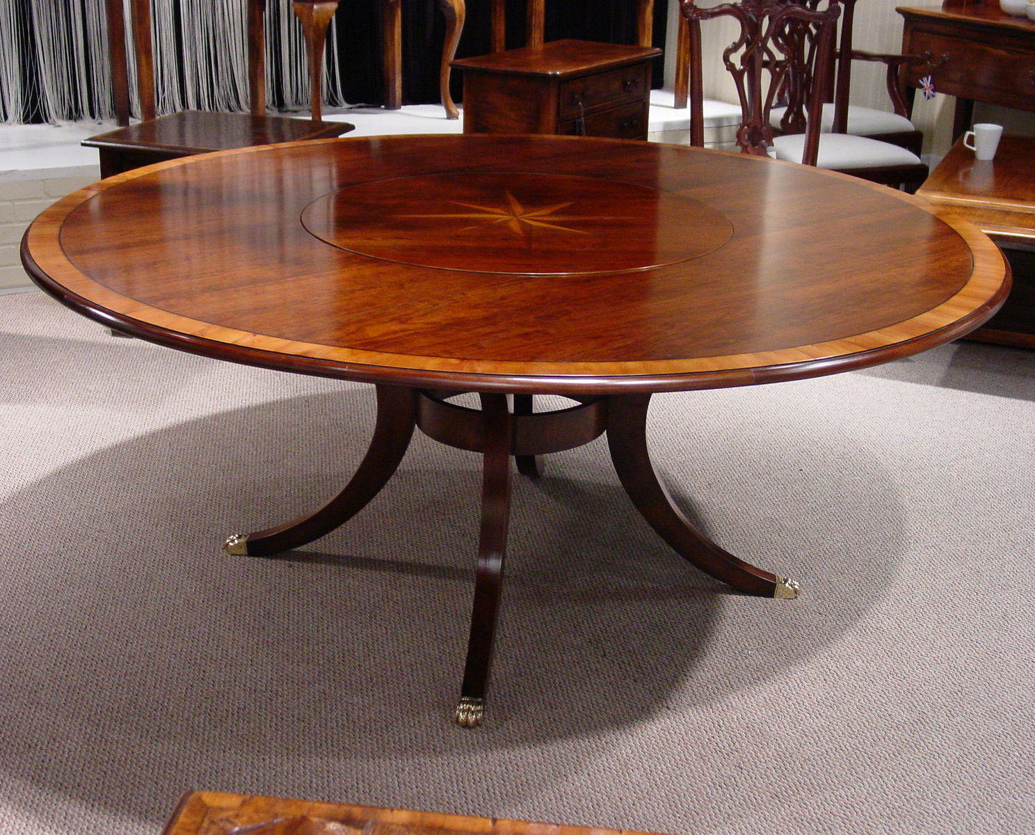 Lazy Susan Table Dining Tables Englishman 39s Fine Furnishings