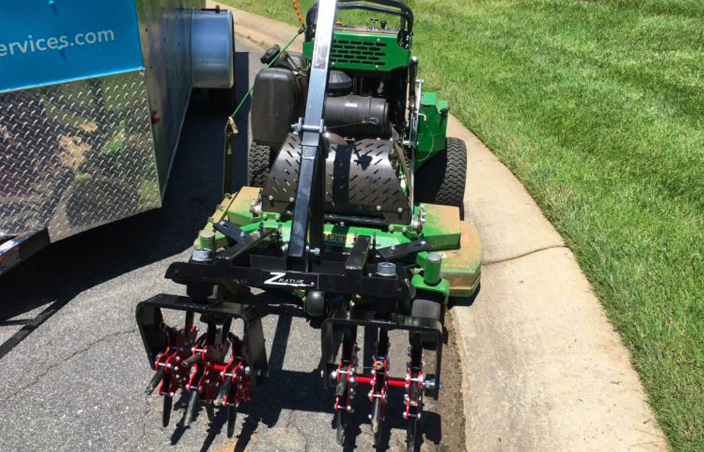 Grass Aerator Warm Season Lawn Aeration