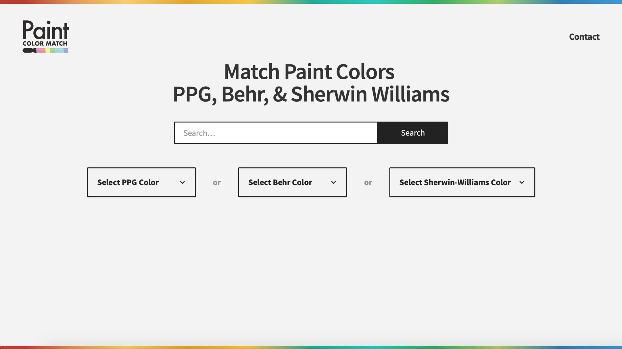 Match My Paint Color App