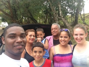 I was sitting at a waterfall in rural Panamá when I started chatting with this family, who quickly adopted me.