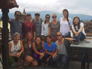 Where There Be Dragon's Nepal Group, 2016 (third from left, back row)