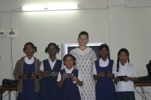 Volunteering with an educational foundation in Hyderabad while studying abroad