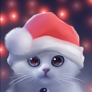 Cute Dog Christmas Pics Wallpaper Download Yin The Cat V1 2 1 Apk Android App