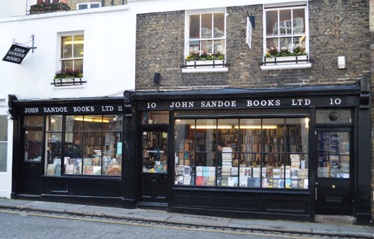 Book Services Ltd London's Best Book Stores Global Blue