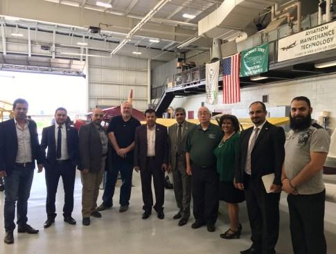 Cincinnati State with delegation