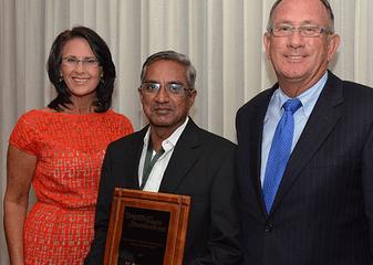 2013-Kleckner-Award-recipient-V-Ravichandran-with-TATT-CEO-Mary-Boote-and-TATT-Chairman-Bill-Horan
