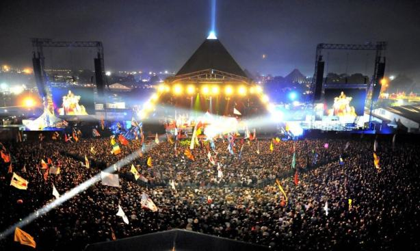 globalhelpswap goes to Glastonbury