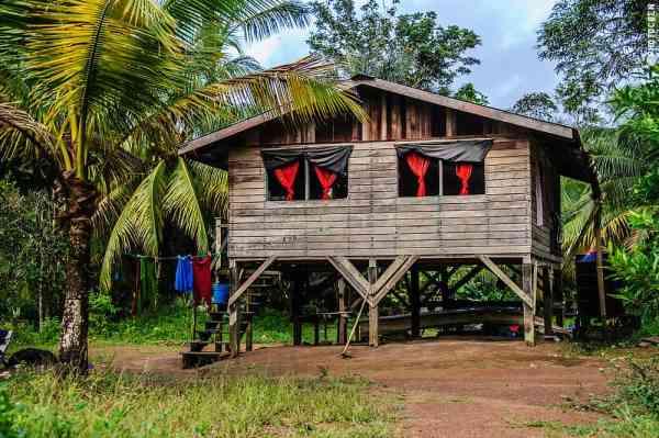 Visiting an Awarak Community in Guyana, South America