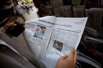 APTOPIX Mideast Lebanon WikiLeaks Al Akhbar