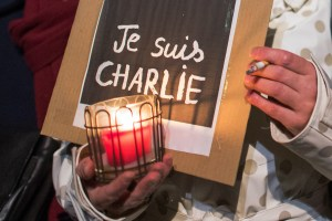 Solidarity event after attack in Paris