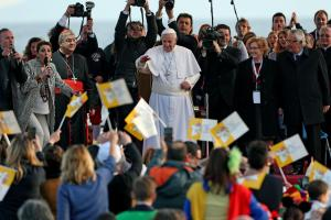 Pope Francis in Naples