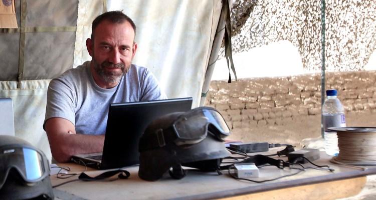 Madrid 15/10/2013    INTERNACIONAL Imagen de MARC MARGINEDAS en la base canadiense de Patricia en Nakhonay en Afganistan en octubre de 2010 (10/10/2010) Foto de AGUSTIN CATALAN