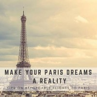 Dreaming of Paris? No Better Time than NOW! #sponsored