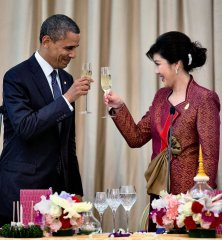 Prime Minister Shinawatra meets with President Obama