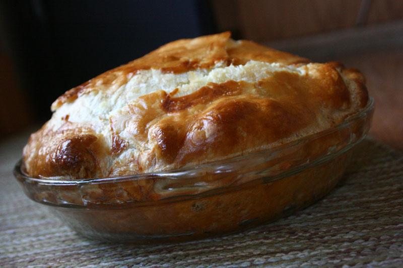 Albanian Leek Pie