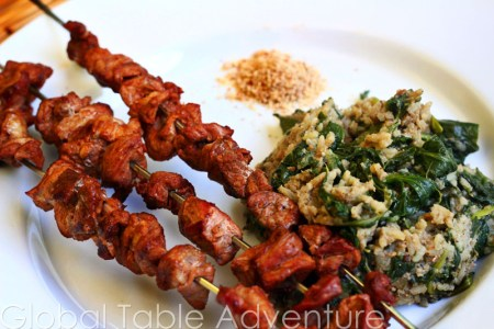 Spiced Lamb Kabobs | Brochettes | Global Table Adventure