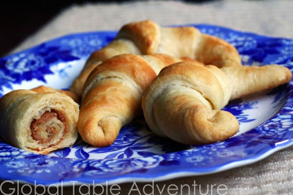 Easy Peanut Butter Croissants | Groundnut Croissants | Global Table ...