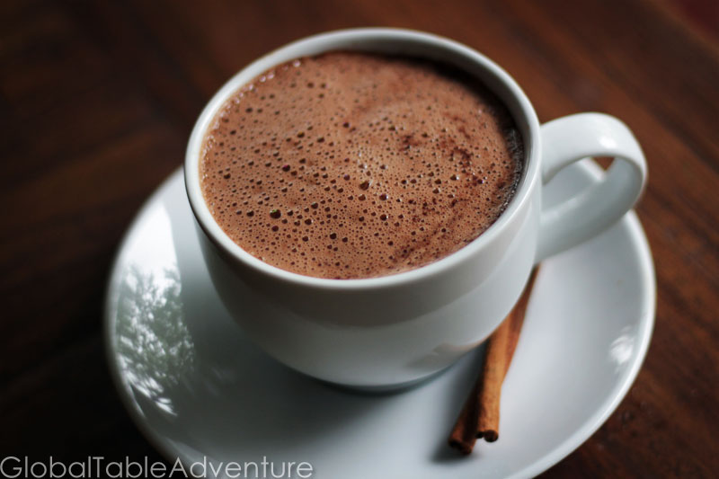Guatemalan Hot Cocoa | Global Table Adventure